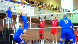 Indoor volleyball competition at World Masters Games 2013